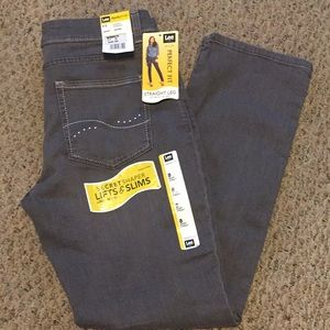 Lee Perfect Fit Straight Leg Jeans Size 8 Short